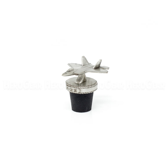 F-22 Raptor Stealth Fighter Wine Corks and Bottle Stoppers