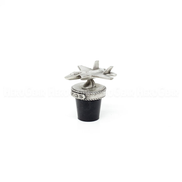 F-35 Lightning II Stealth Fighter Wine Corks and Bottle Stoppers