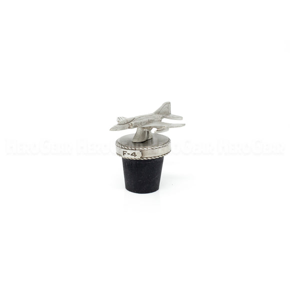 F-4 Phantom Fighter Jet Wine Corks and Bottle Stoppers