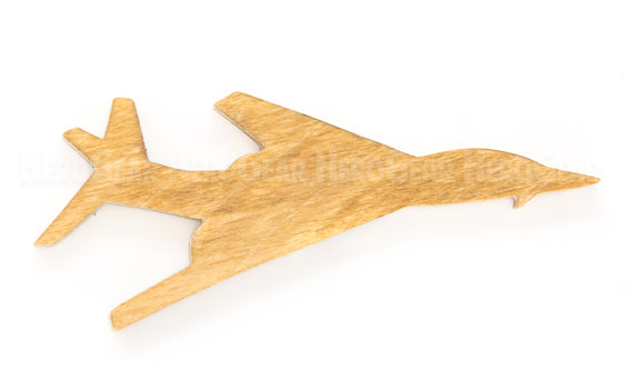 B-1 Lancer Bomber Wood Piece
