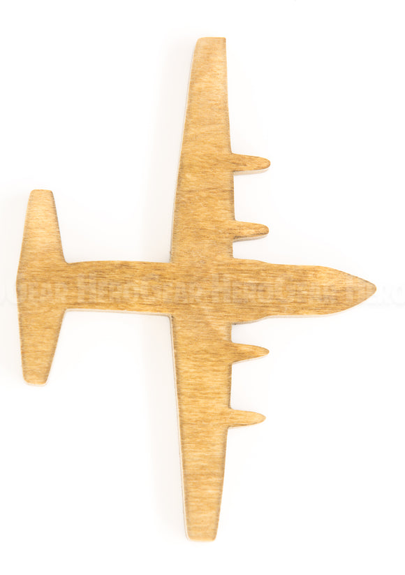C-130 Hercules Wood Piece