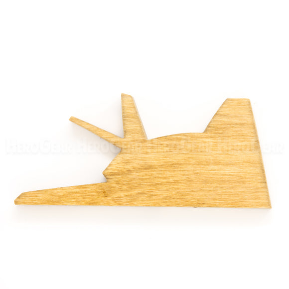 F-117 Nighthawk Wood Piece