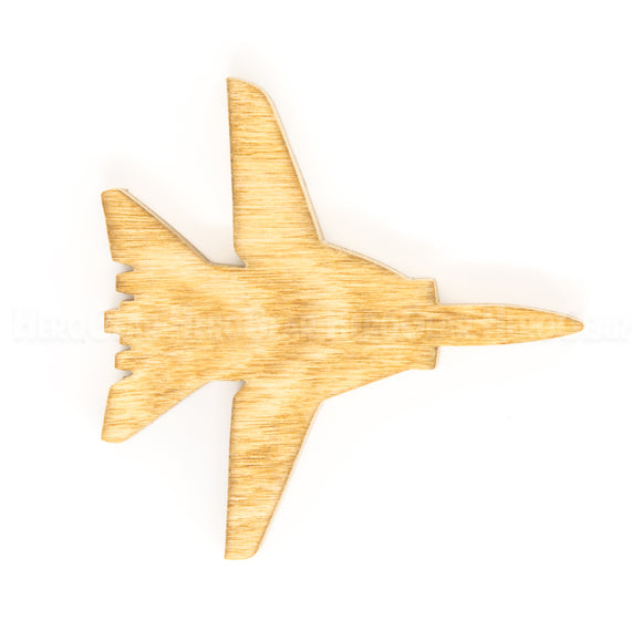 F-14 Tomcat Wood Piece