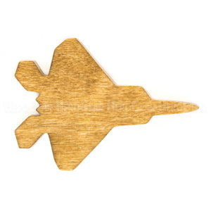 F-22 Raptor Wood Piece