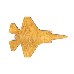 F-35 Lightning Wood Piece