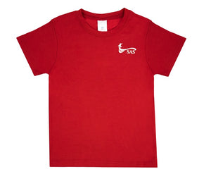 (Uniform-Unisex) PE RED Coolmax T-Shirts