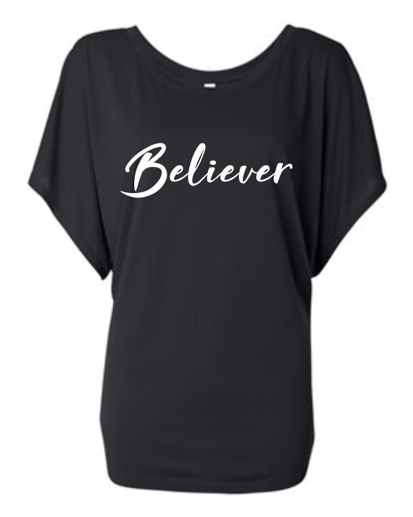 Believer Off the Shoulder Shirt