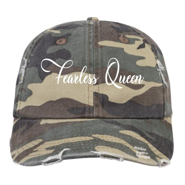 Fearless Queen Camo Dad Hat