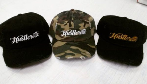 Hustlerette Dad Hats