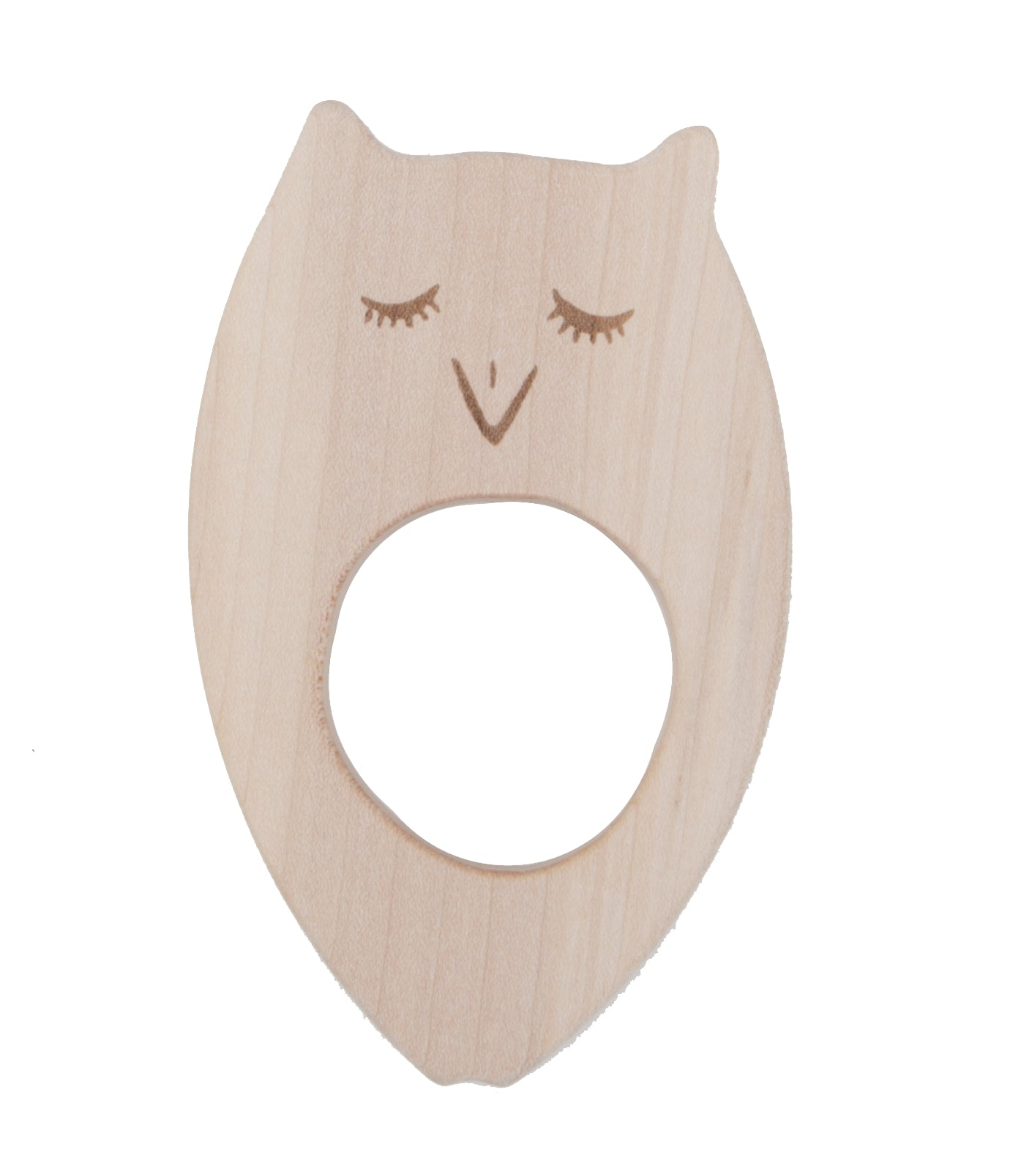 Owl Wooden Teether
