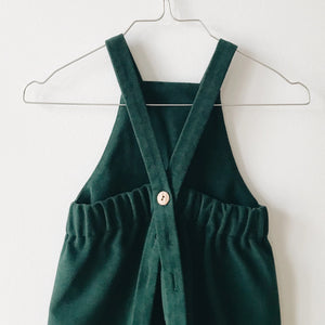 Moss dungarees