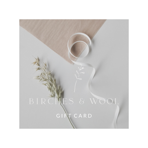 Birches & Wool Gift Card 50€