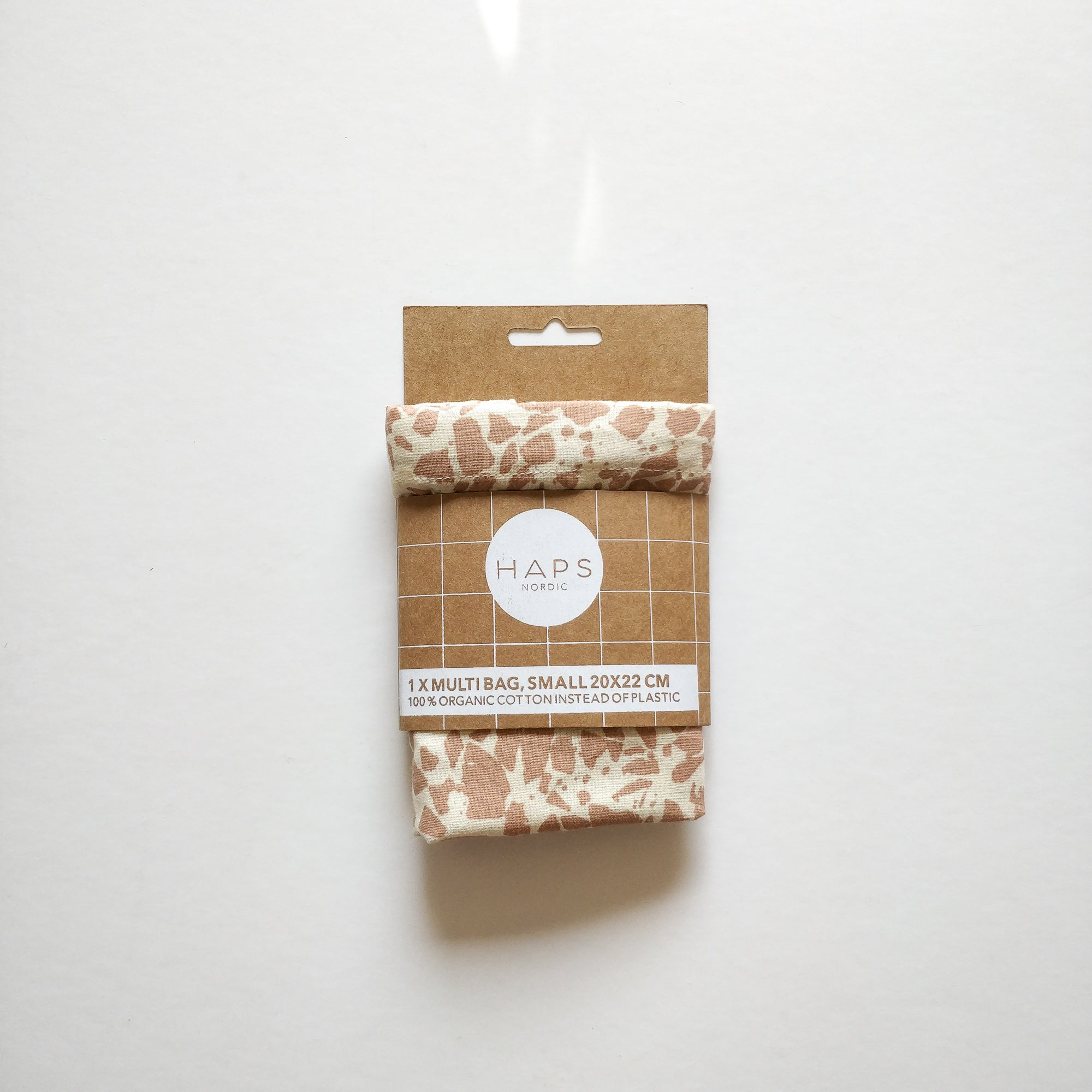 Multi bag small, Terrazzo aop Rose powder