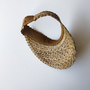 Women's Palm leaf visor
