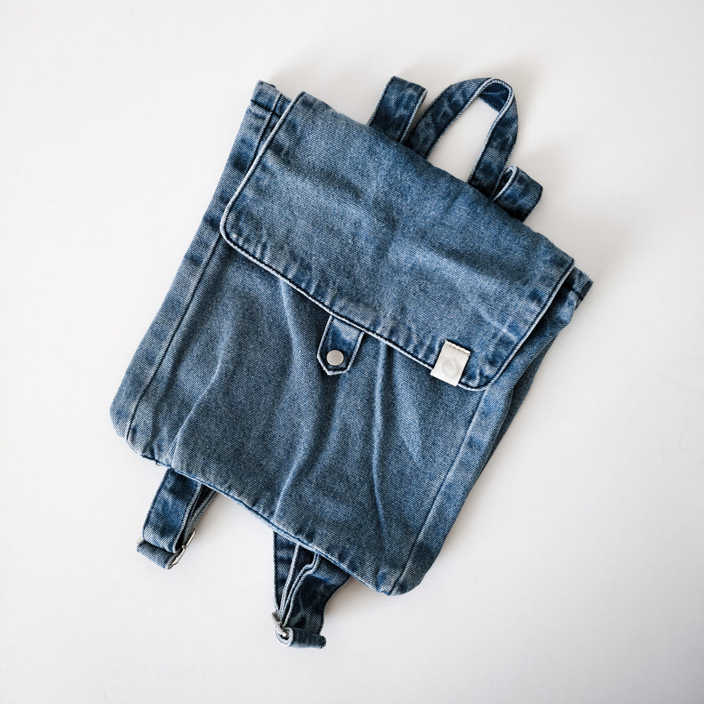 Ginger Denim Backpack