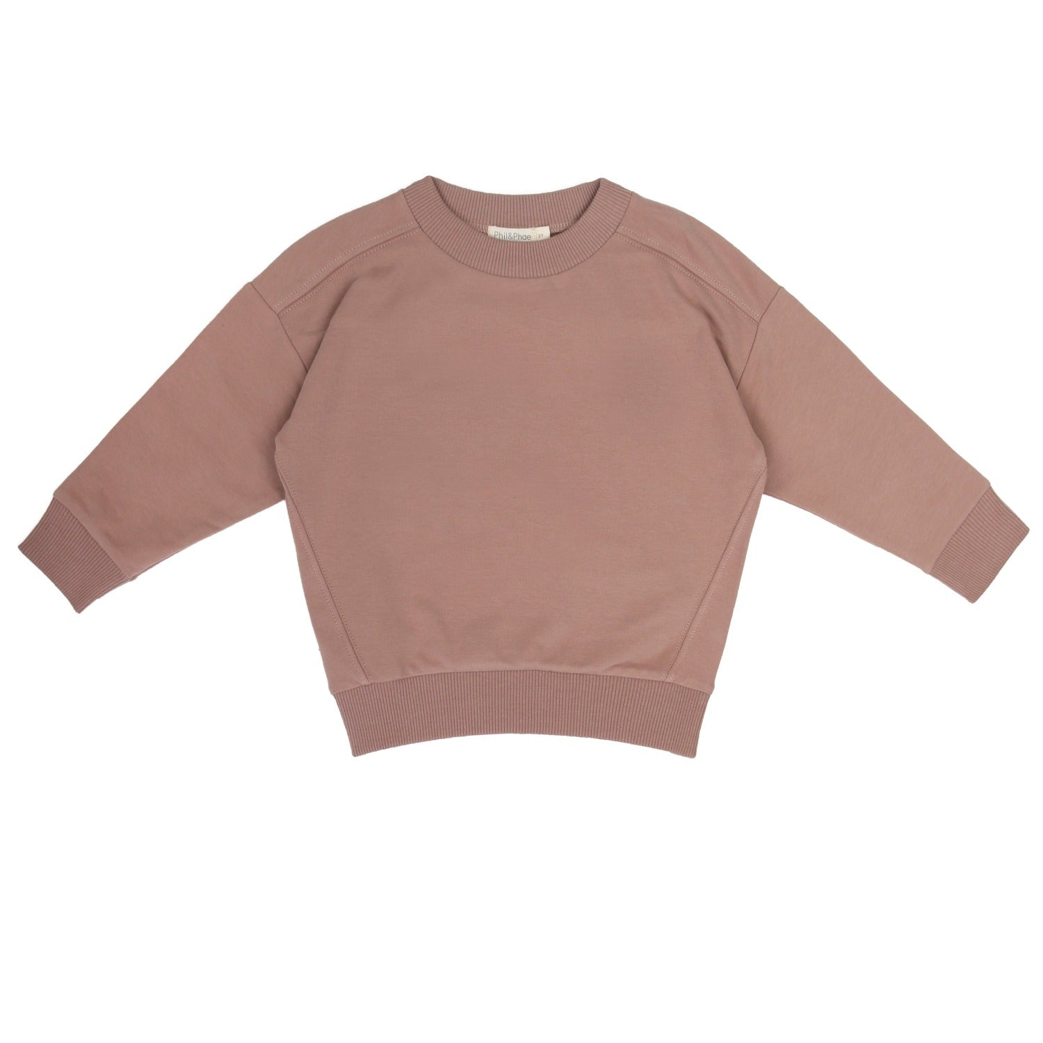 Oversize Sweater, Powder by sustainable kidswear brand Phil&Phae