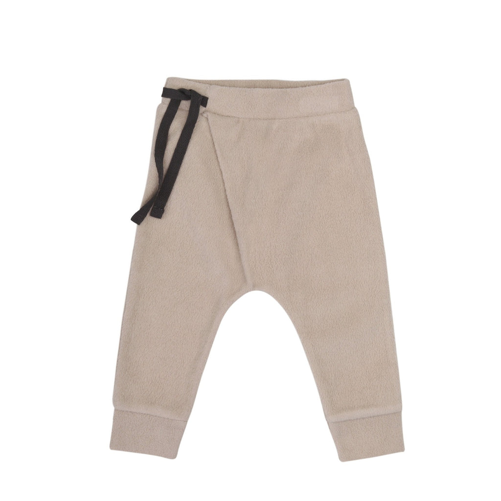 Teddy baby harem pants by the sustainable kidswear brand Phil&Phae