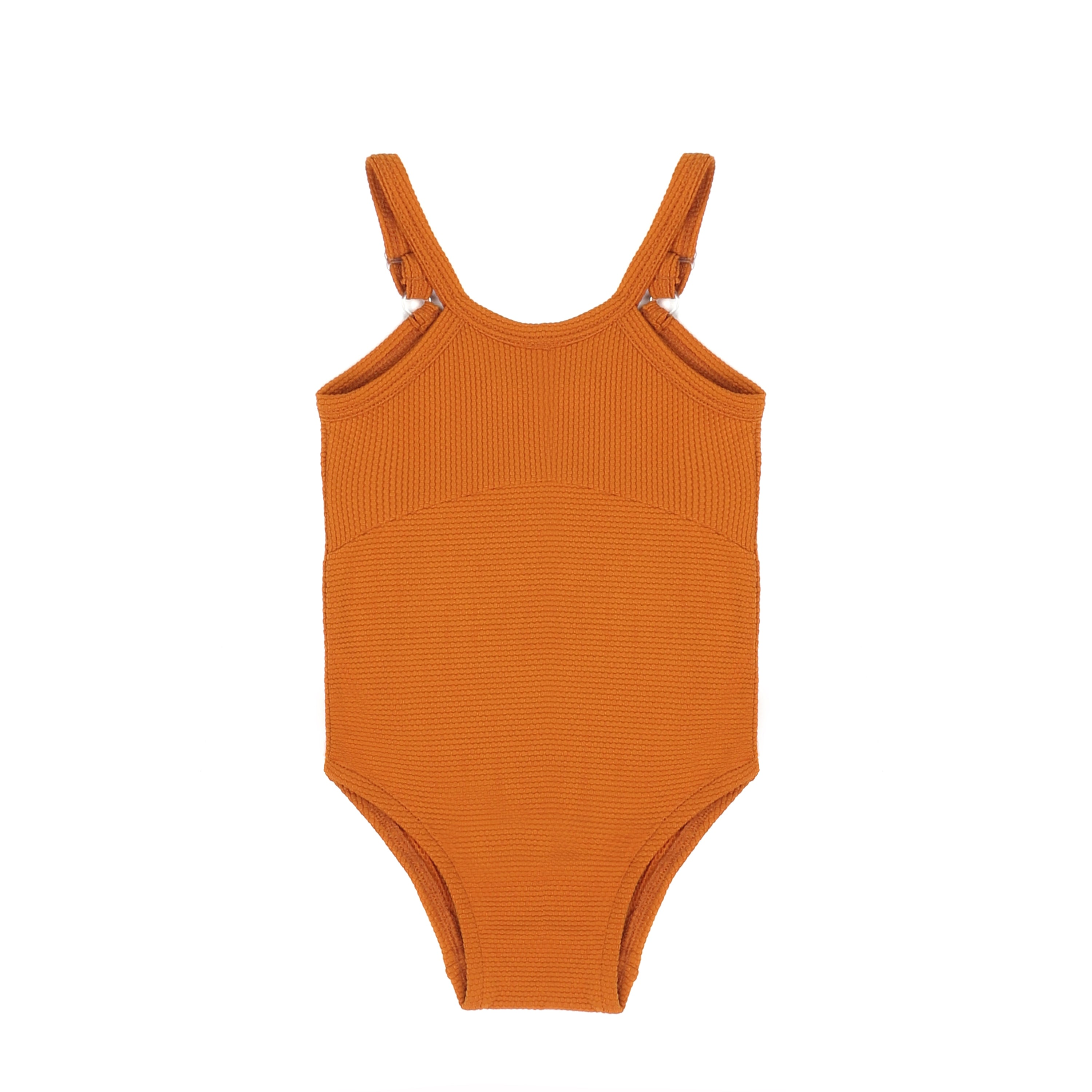 Swimsuit, tangerine, UPF50