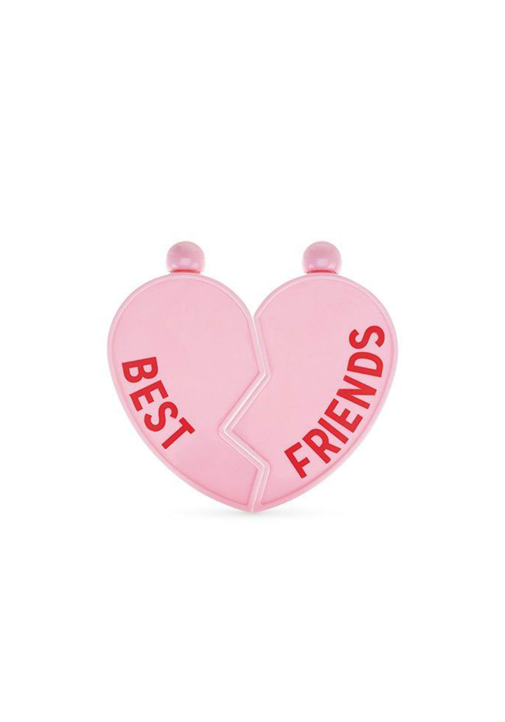 Pink Best Friends Flask Set