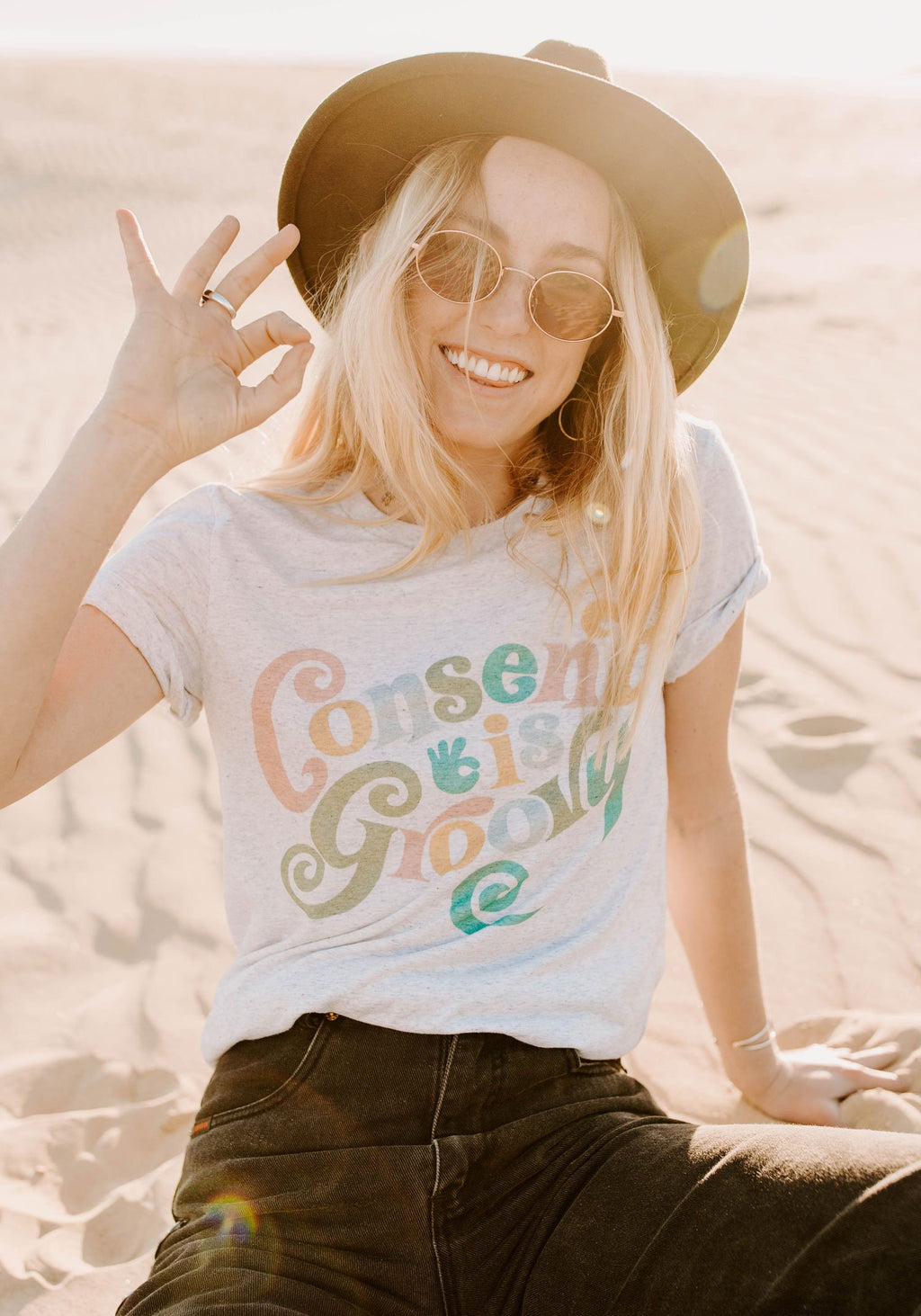 Consent is Groovy Tee