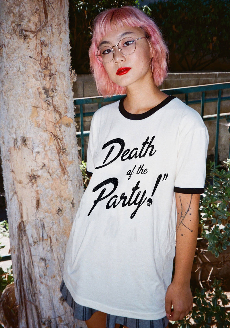 Death of the Party Ringer Tee