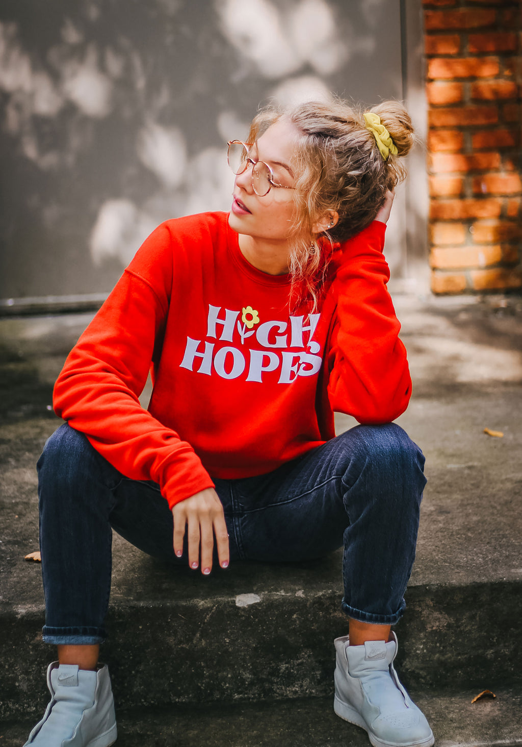 High Hopes Fleece Sweatshirt