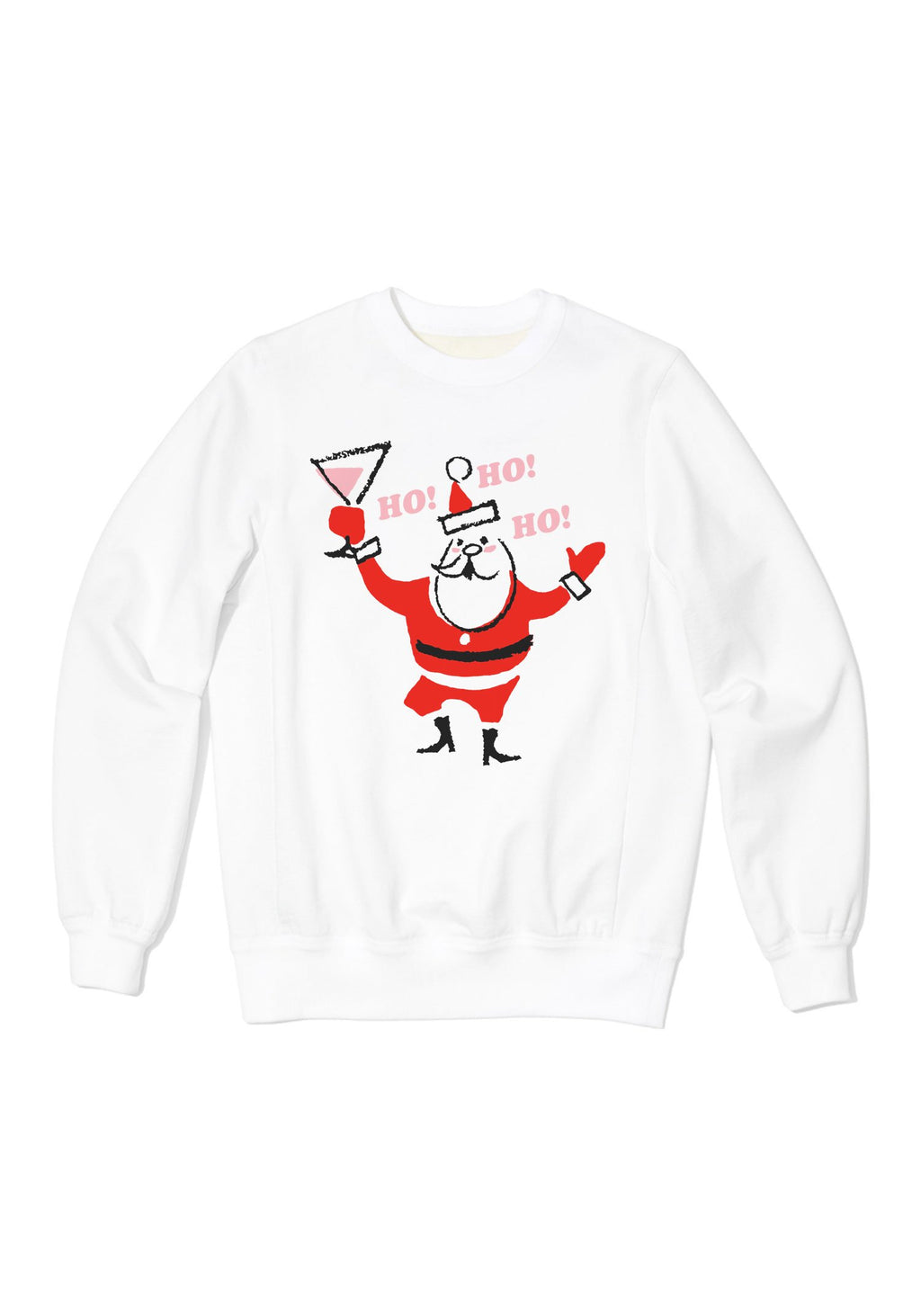Holiday Spirit Sweatshirt / sweatshirts with sayings for women / christmas holiday santa claus sweaters / cozy womens vintage style sweater