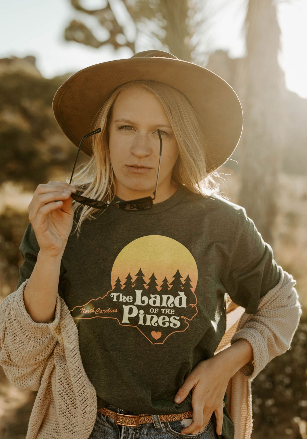 Land of the Pines Tee