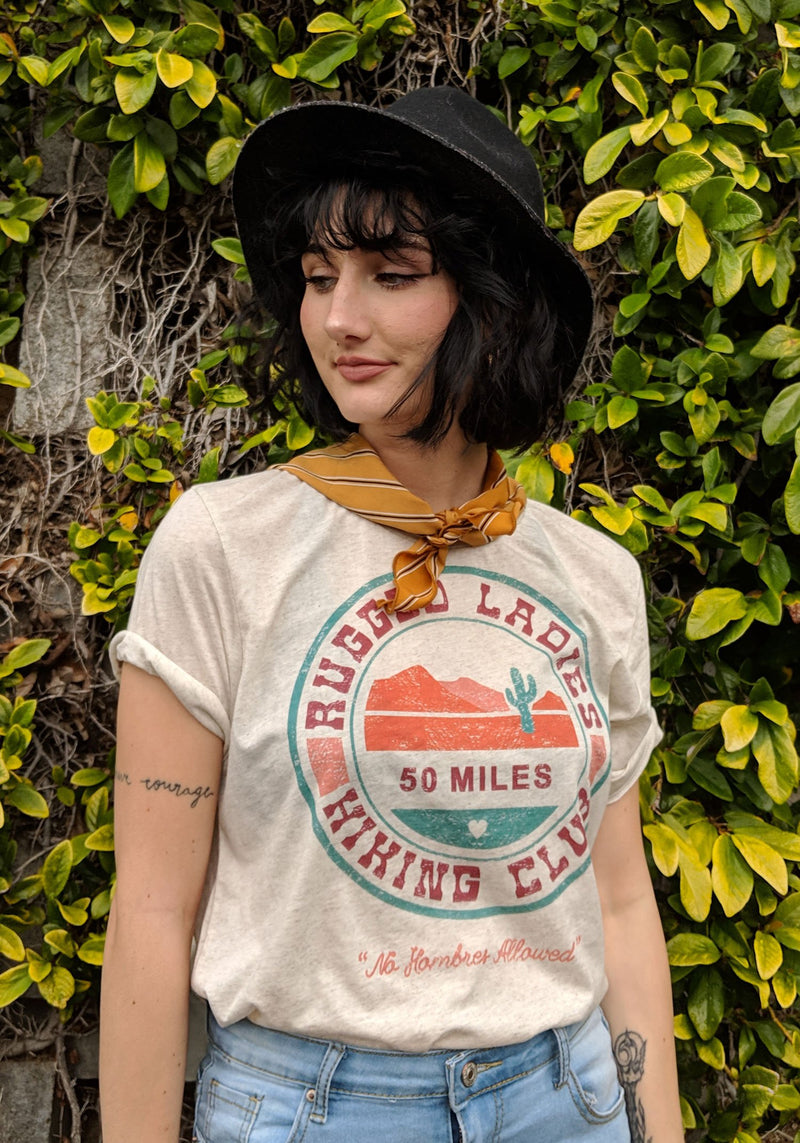 Rugged Ladies Hiking Club Tee