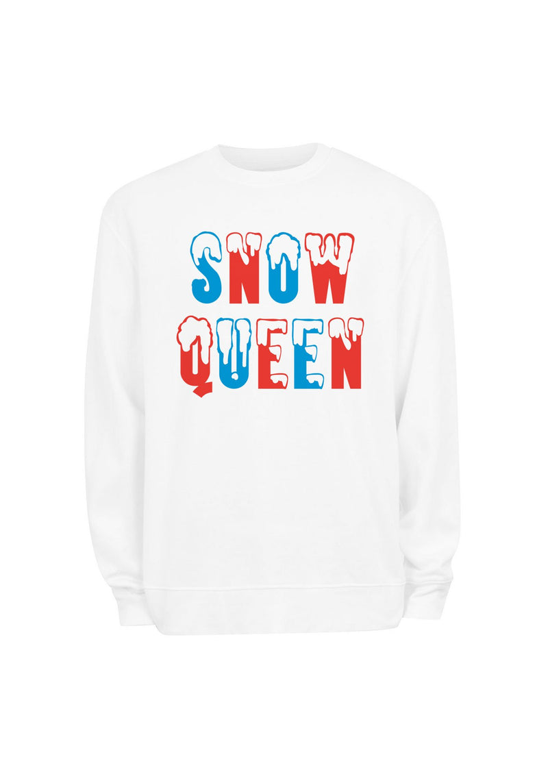 Snow Queen Sweatshirt / sweatshirts with sayings for women / christmas holiday sweaters / cozy womens sweater sweat shirts