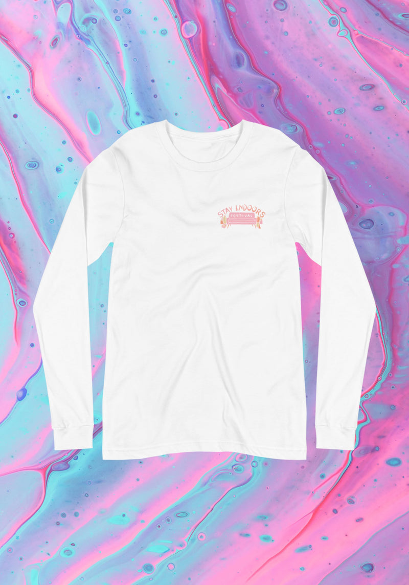 Stay Indoors Long Sleeve Tee