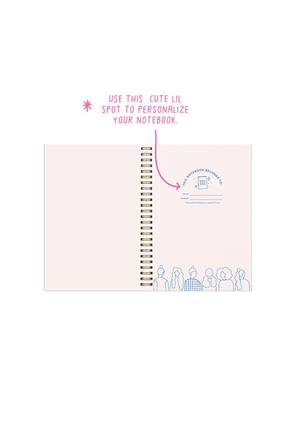 Girl Power Formation Notebook