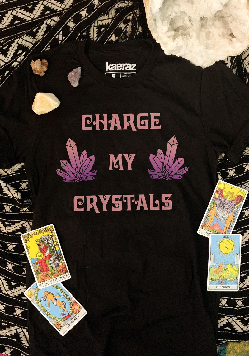 Charge My Crystals Tee