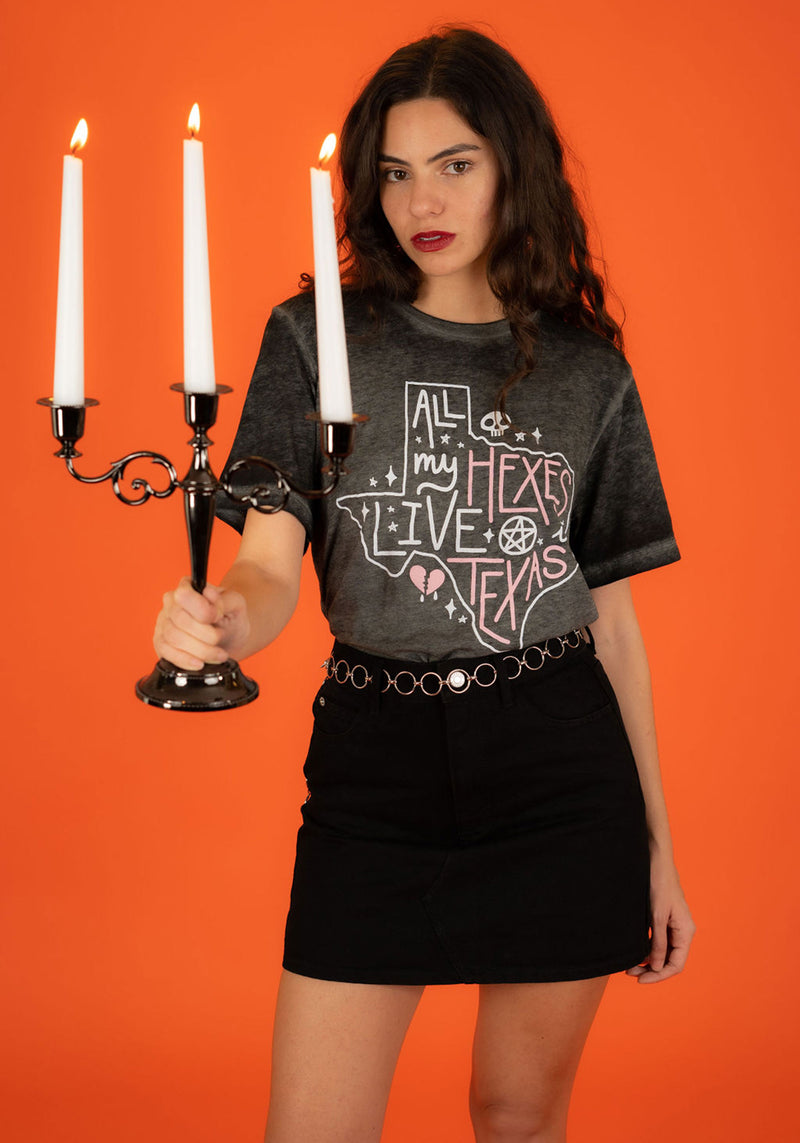 Hexes in Texas Tee