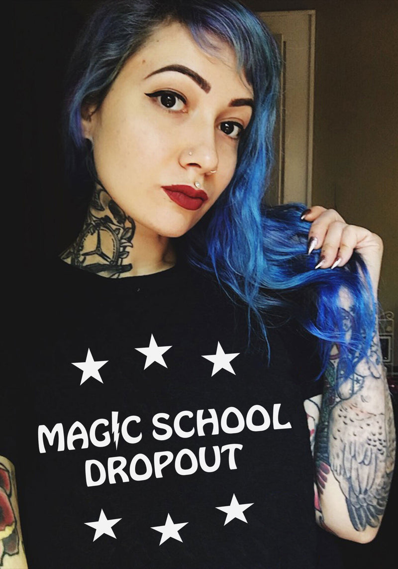 Magic School Dropout Tee