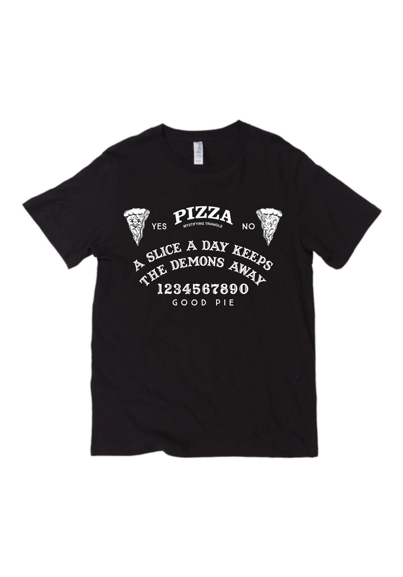 Pizza Oracle Tee / womens graphic tees / pastel goth clothing / witch witchy halloween costume t shirt / mystical gifts