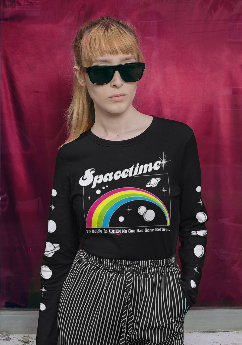 Spacetime Long Sleeve Tee
