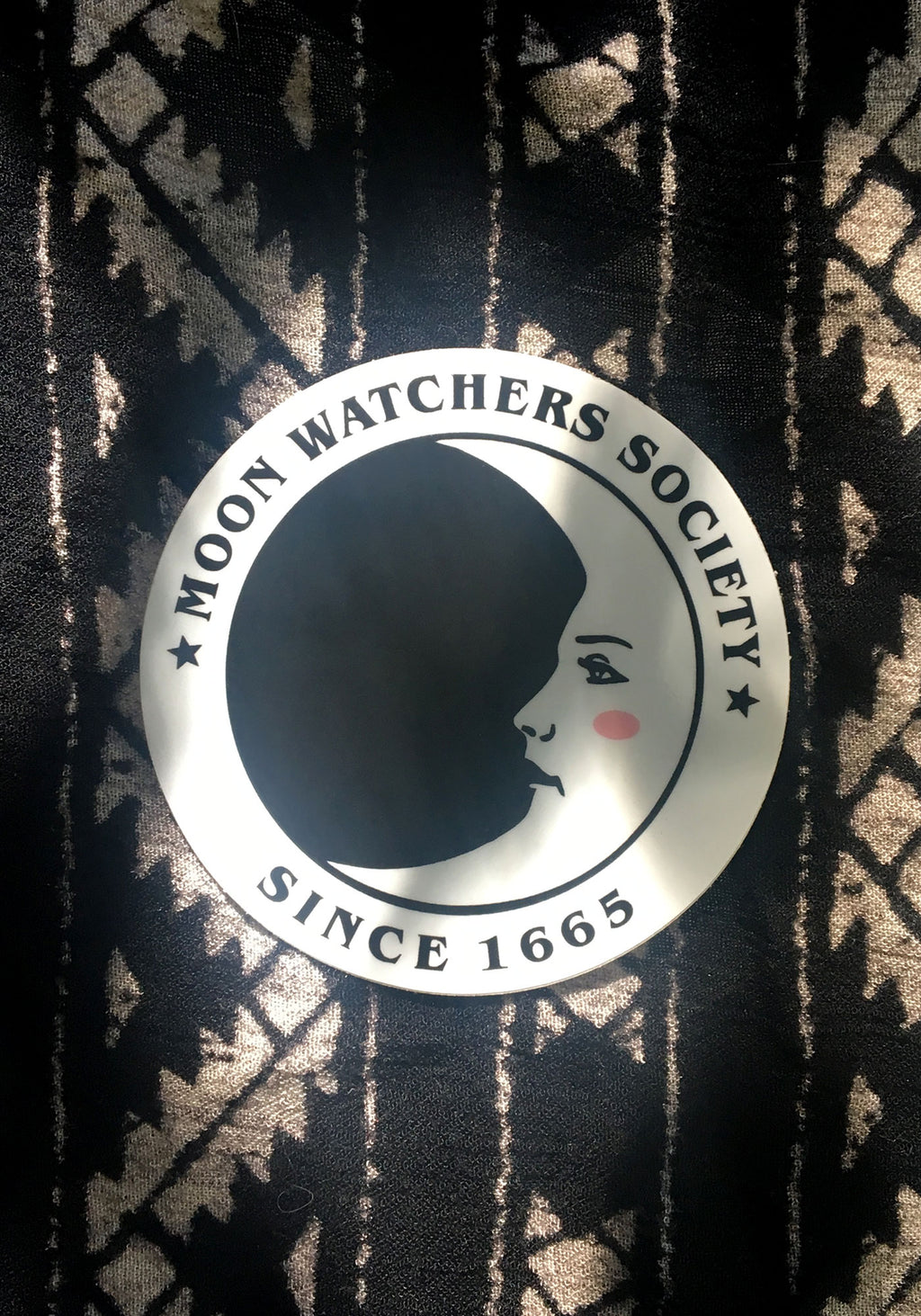 Moon Watchers Sticker / stickers pack set laptop art / witch witchy vintage style / tarot mystical / psychic magic / vinyl die cut decal
