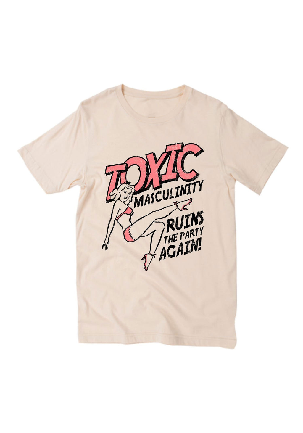 Toxic Masculinity Tee / womens graphic tshirts / my favorite murderino shirt stay sexy / ruins the party again murder true crime t shirt