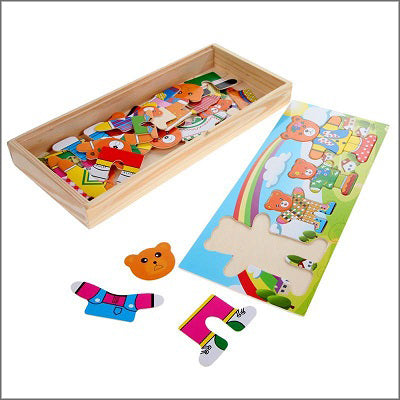Clothing Jigsaw Puzzle for Toddler