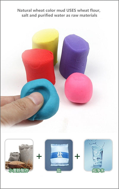 3d color clay