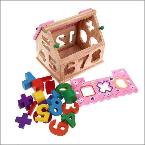 Montessori Toy Blocks Smart House