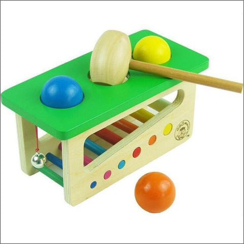 Wooden Beat Balls Toy