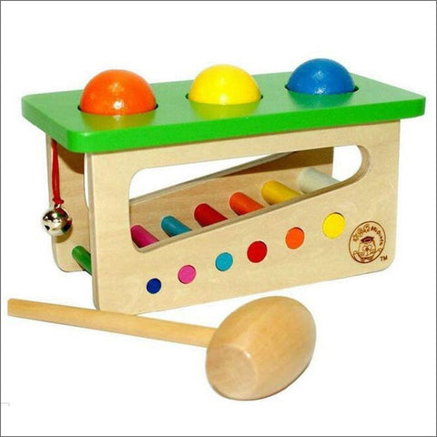Wooden Sound Beat Balls Toy