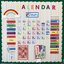 148PCS/Calendar Set By Our Smarter Toddlers