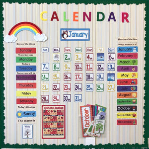 Calendar Set for kids