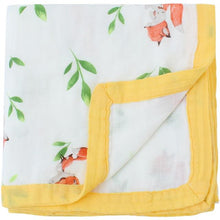 2 Layers Baby Blanket Bamboo Fiber By Our Smarter Toddlers