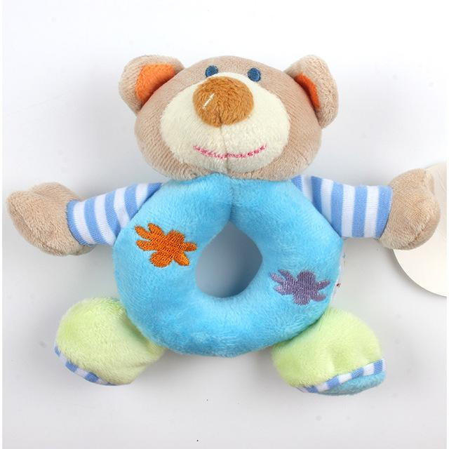 Animal Plush Rattles for Children By Our Smarter Toddlers