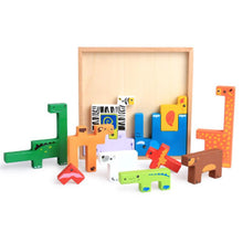 Baby Colorful Building Wooden Block By Our Smarter Toddlers
