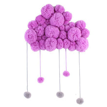 Cloud hanging Nursery Decor for Baby's Room By Our Smarter Toddlers